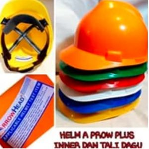 Helm Proyek ARROW HEAD Aplus Inner Biasa + Tali Dagu